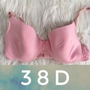 Pink Lightly Lined Bra